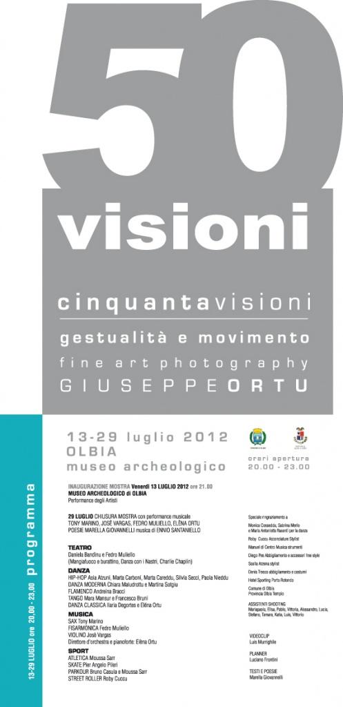 Locandina Mostra 50 Visioni Olbia