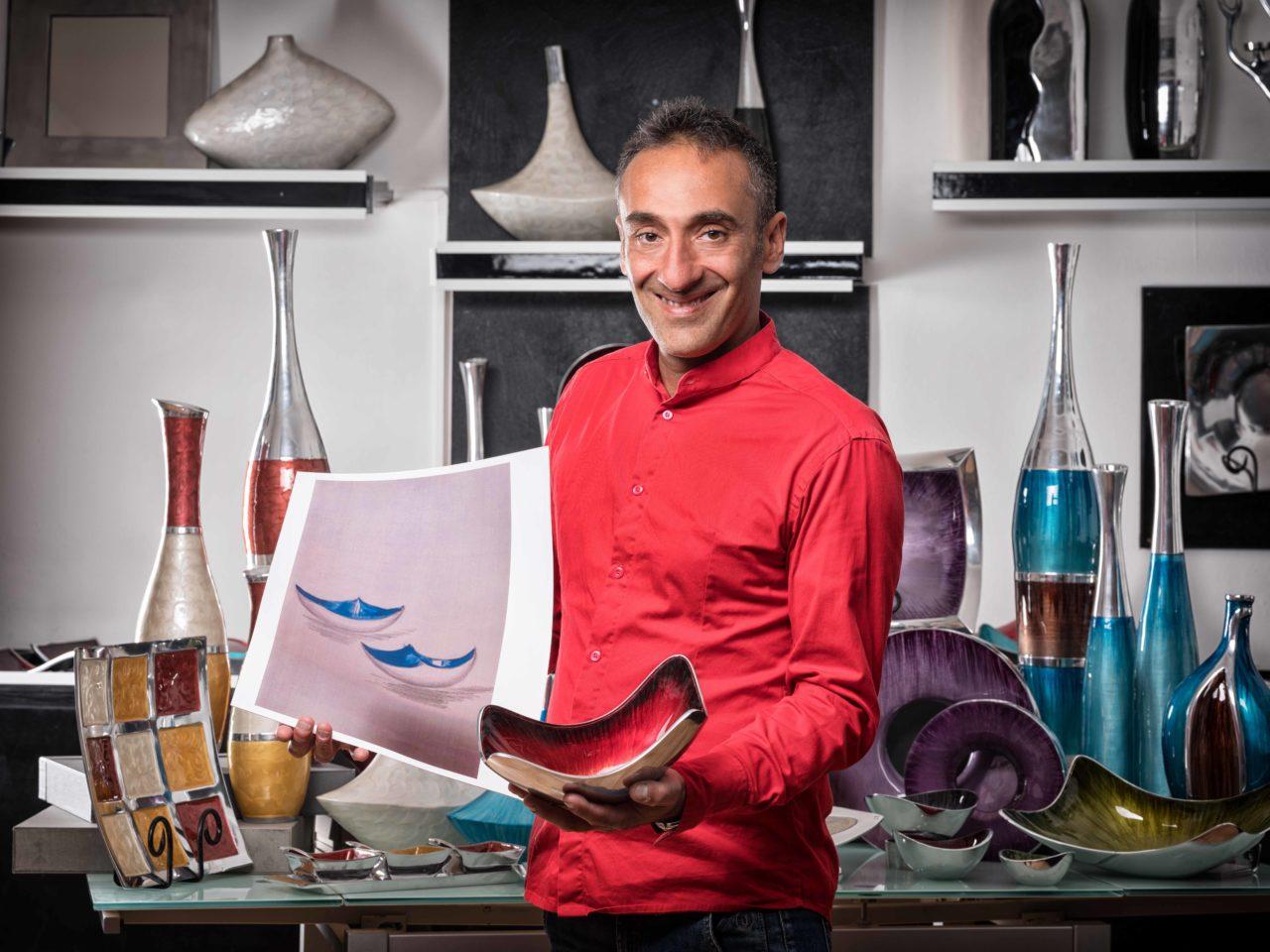 Servizio fotografico per Designer a cura di Giuseppe Ortu fotografo specializzato a Olbia.