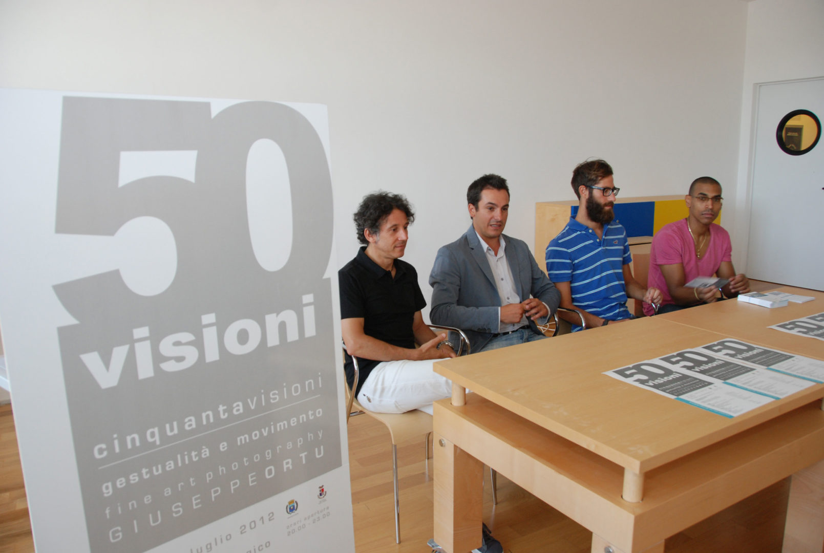 Foto mostra 50 Visioni Olbia Giuseppe Ortu